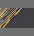 abstract yellow grey hi-tech futuristic technology vector image vector image