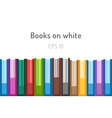 Books logo icons set Sale background vector image vector image
