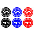 panama rubber stamp vector image vector image