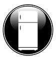 Refrigerator button vector image