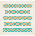 seamless woven tape vector image vector image