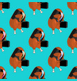 workers go to work background fried chicken vector image