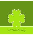 Abstract background with clover quatrefoil vector image vector image
