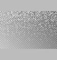 christmas falling snowflake snow flake dec vector image vector image