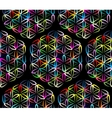 Flower of Life seamless pattern for your design vector image vector image