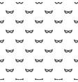 italian carnival mask pattern seamless vector image vector image