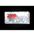 New Year Greetings card vector image vector image