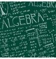 Seamless formula pattern vector image vector image