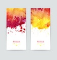 set two banners vector image