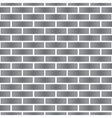 simple gray stone brick wall seamless pattern vector image vector image