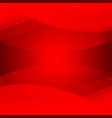 abstract red color for your business concept vector image