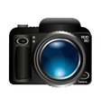 camera lens photographic icon vector image