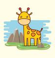 cute animals design vector image