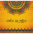 invitation for cinco de mayo festival vector image