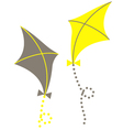 Kites vector image vector image
