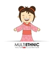 multi ethnic vector image vector image