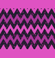 zigzags seamless pattern with dots synthwave vector image vector image