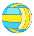ball for volleyball icon cartoon style vector image
