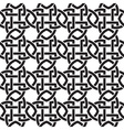 Chain mail of the links in form of crosswise vector image vector image