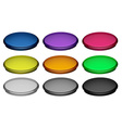 Colourful buttons vector image