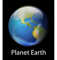 Planet Earth vector image vector image