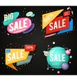 Sale advertising banner layout special big offer vector image vector image