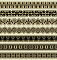 Vintage border set for design vector image vector image