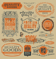 Vintage emblems and labels vector | Price: 3 Credits (USD $3)