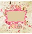 Vintage Valentines design temlate EPS 8 vector image vector image