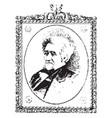 andrew jackson vintage vector image vector image