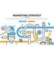 business and marketing vector image vector image