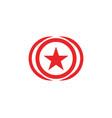 c logo letter template design vector image