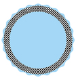 Square pattern card vector image