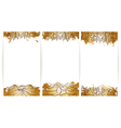 Tea banner collection vector image