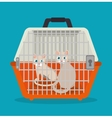 cat pet shop icon vector image vector image