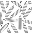figure pencil color icon stock vector image vector image