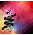 retro supply hipster background Styled badges vector image vector image