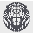 Symbol head of the lion vector image