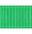Football soccer field vector image