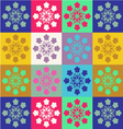 cheerful pattern Spring patterns vector image