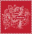 Christmas doodle card