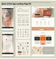 flat design responsive pixel perfect ui mobile app