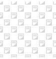 folder with table excel icon outline style vector image vector image
