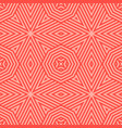 red seamless pattern with stripes diagonal lines vector image
