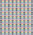 A very large set of colored flat buttons for your vector image