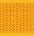 honey comb pattern seamless vector image vector image