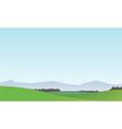 Landscape Background 1 vector image