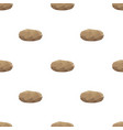 potato triangle shape seamless pattern backgrounds vector image