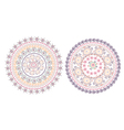 Circle pattern east design vector image