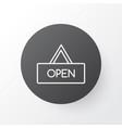 opened placard icon symbol premium quality vector image
